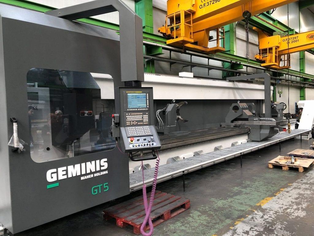 New Geminis 10 meter CNC Lathe