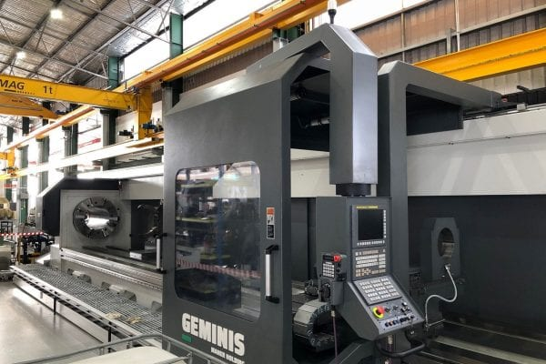 10m Gemini CNC lathe control centre
