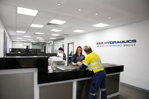 K&R Hydraulics - Reception