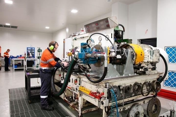 Pump Motors and Valving - Clean Room 2