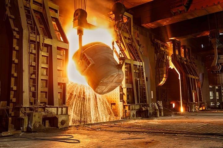 Steel industry Image