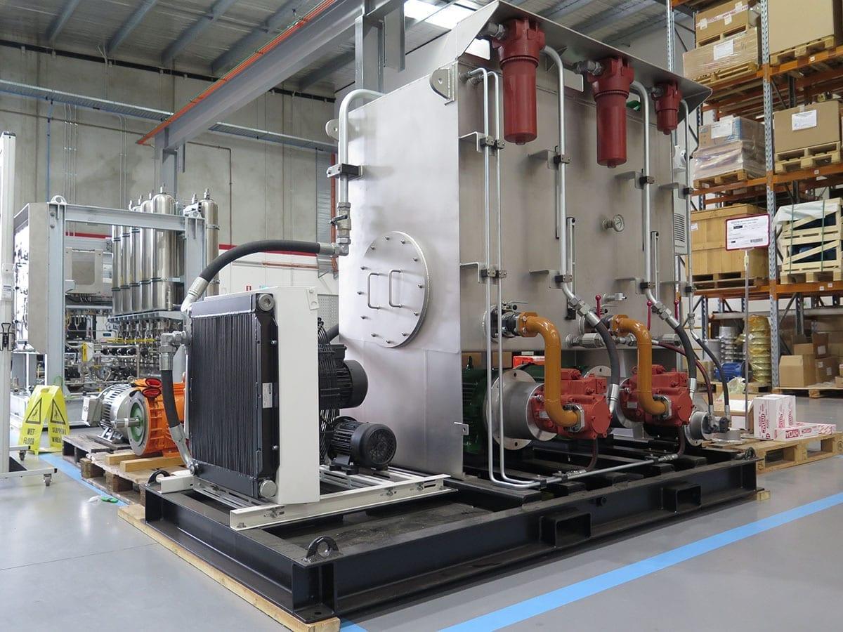 Hydraulic Cyclinder Test Facility (3)