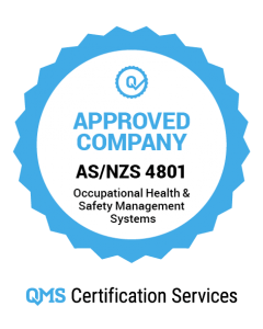 AS/NZS 4801 Approved