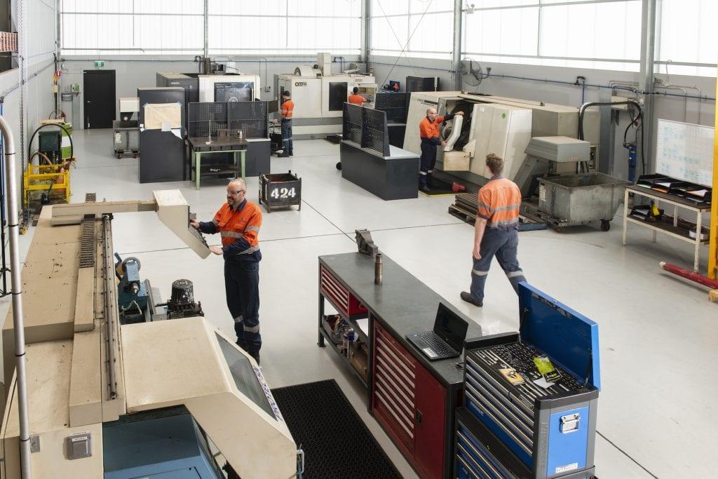 CNC Machining hydraulic facilities image