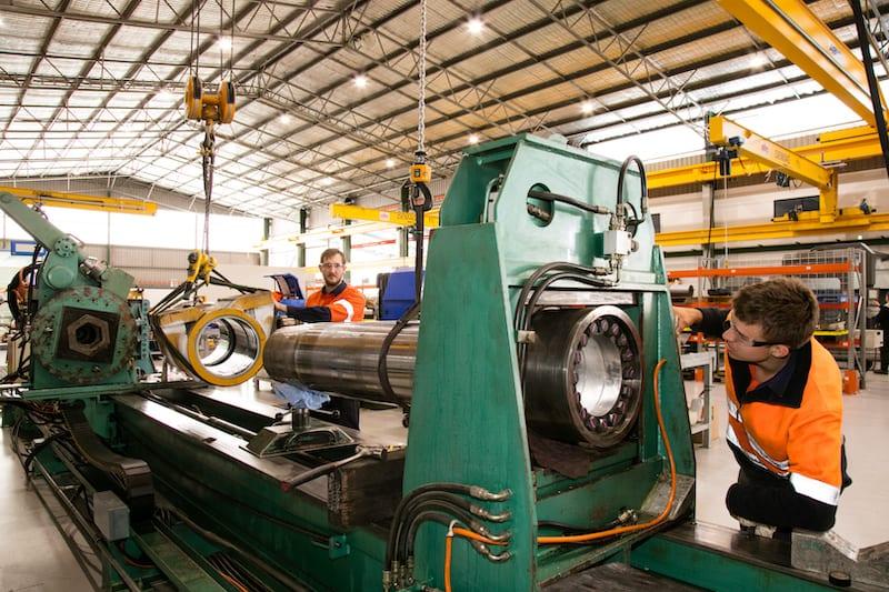 K&R Hydraulics 10m Lathe